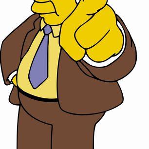 Kent Brockman - The Simpsons