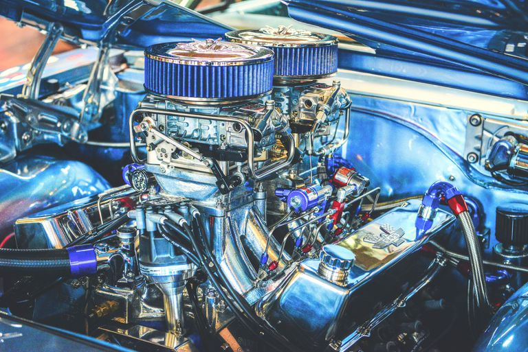 A nitro engine