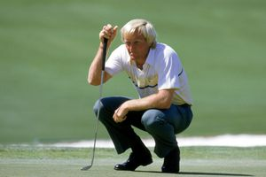 Greg Norman at the 1986 Masters
