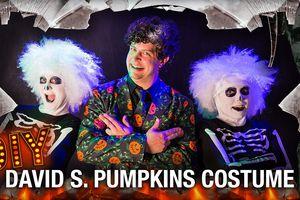 David S. Pumpkins costume