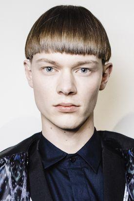Men's fresh haircut