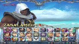 Soul Caliber 3 character screen