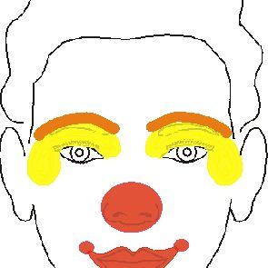 Face Painting Designs Easy Clown