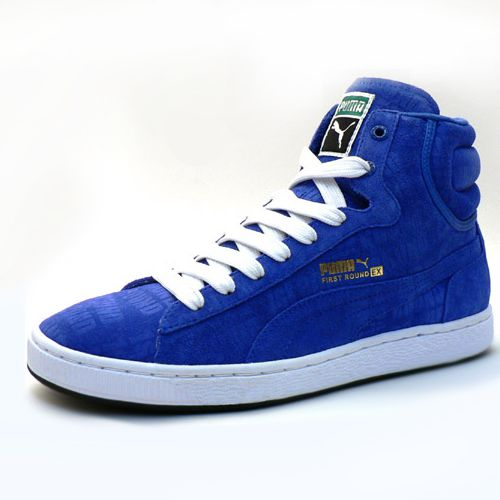 cbcfaf540788 Puma First Rounds are hot! The super nice suede uppers and the perfect  color combos makes these a stellar must-have as high tops.