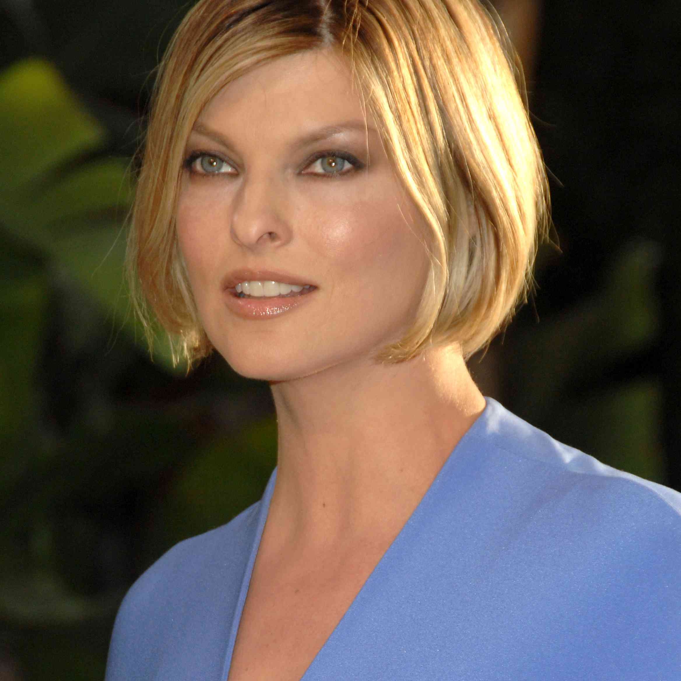 Linda Evangelista during 2007 Vanity Fair Oscar Party Hosted by Graydon Carter at Mortons in West Hollywood, California, United States.