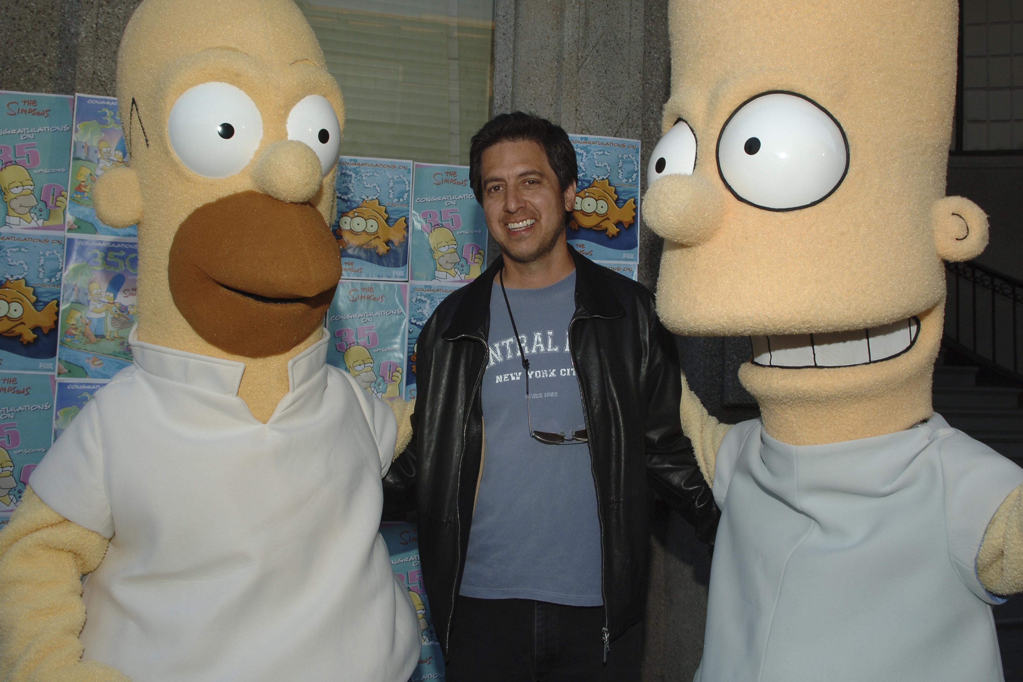 Ray Romano on 'The Simpsons'