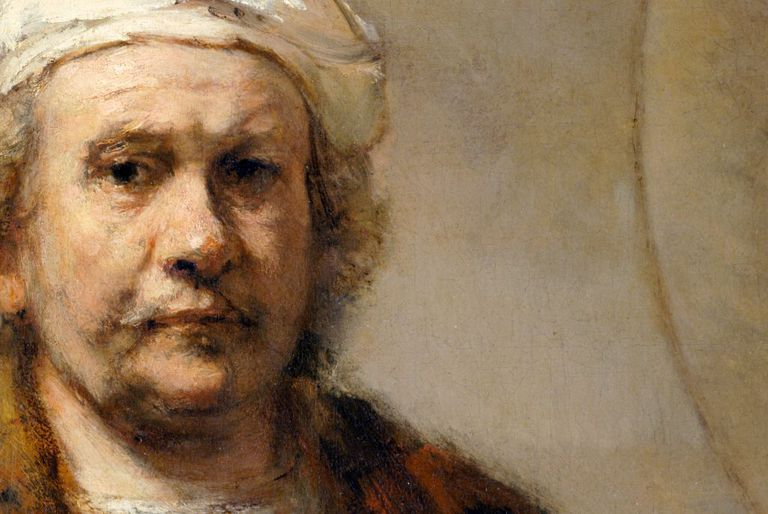 Self portrait of Rembrandt