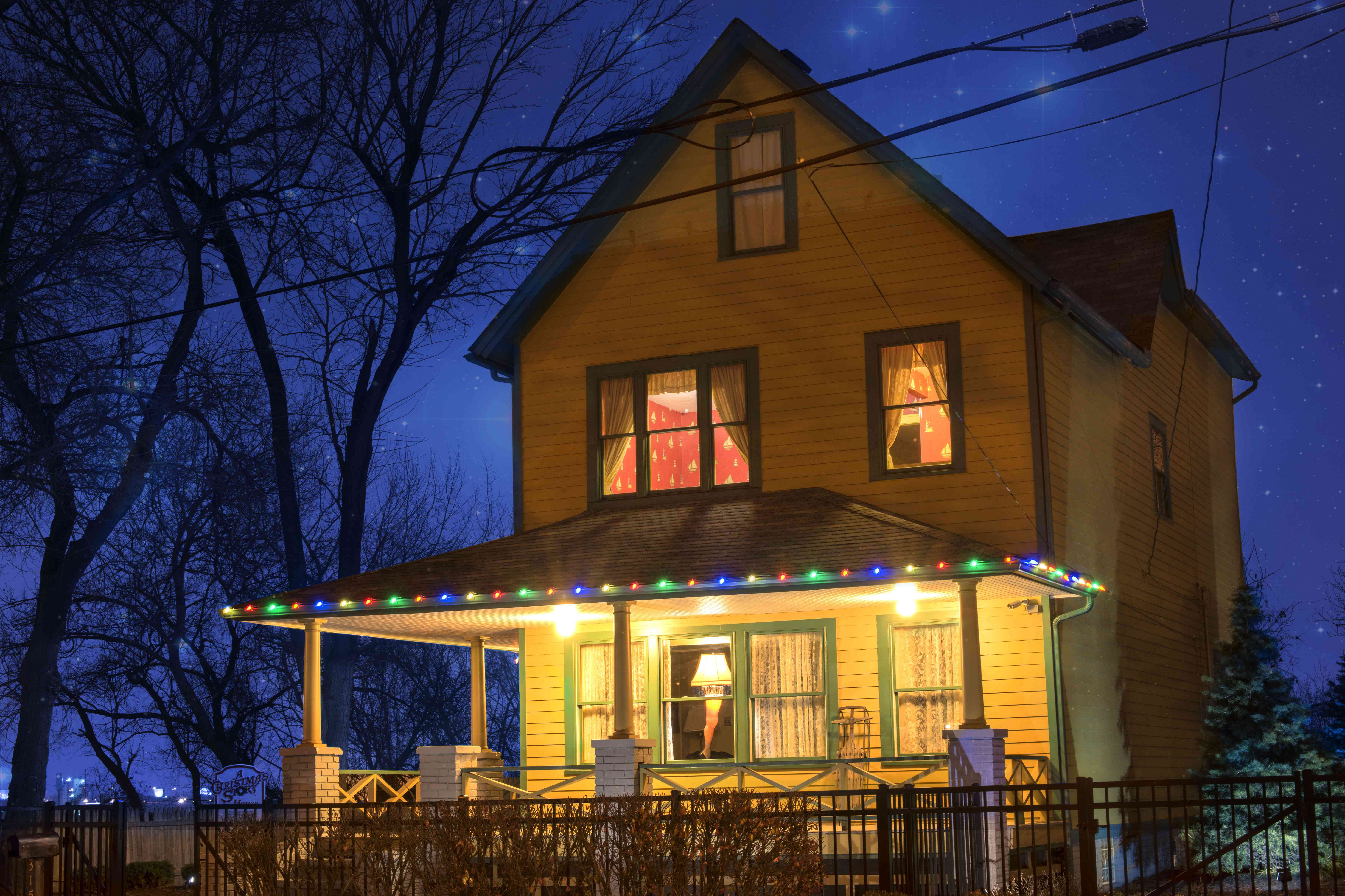 'A Christmas Story' house in Cleveland, Ohio