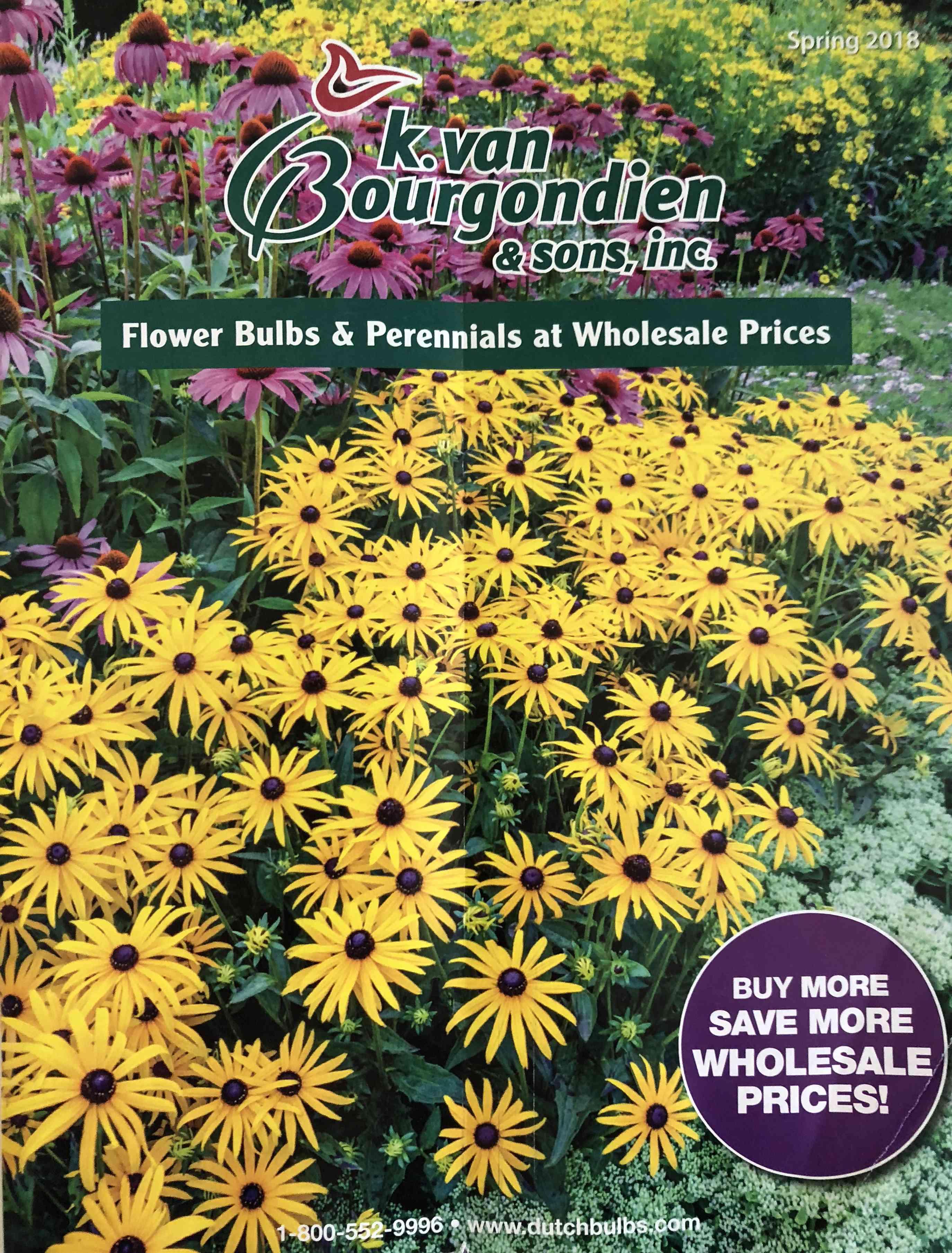 The Van Bougondien 2018 catalog