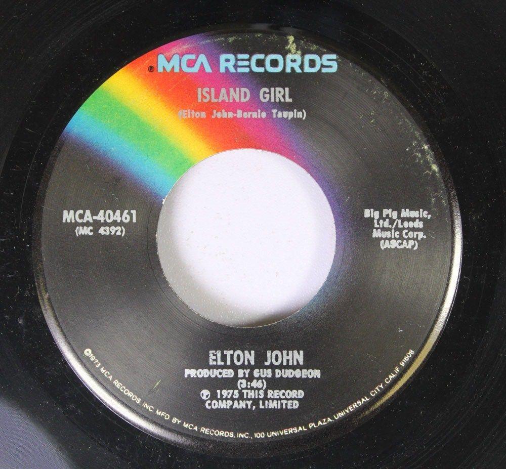 Elton John Island Girl