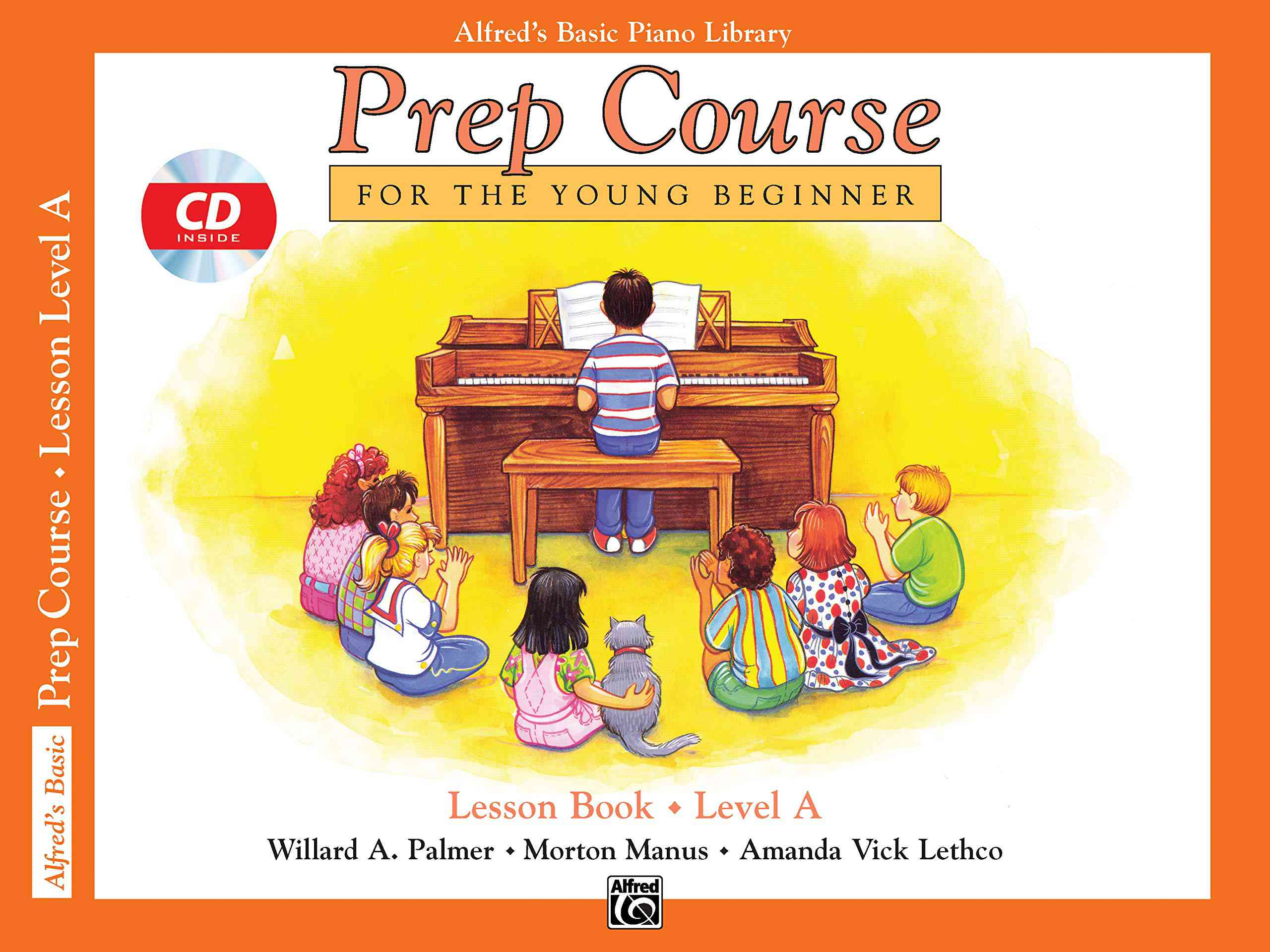 Alfred's Basic Piano Library - Lesson Book Level 1A
