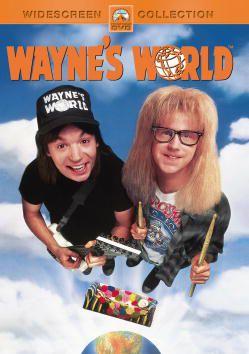 DVD cover art for Waynes World