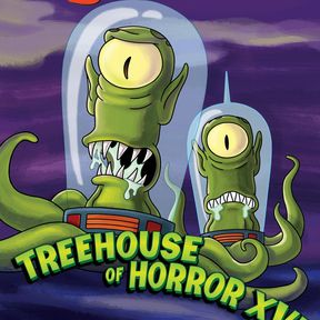 """Kang and Kodos in """"Treehouse of Horror XVI"""""""