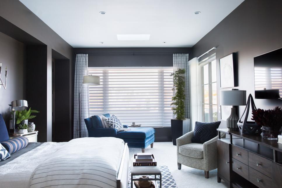 Image of the Master Bedroom of the HGTV Smart Home 17