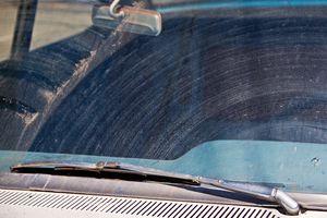 wipers streaking on windshield
