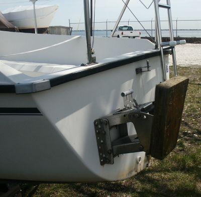 Sailboat Outboard Bracket