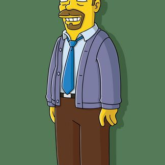 Ricky Gervais in Homer Simpson, This Is Your Wife
