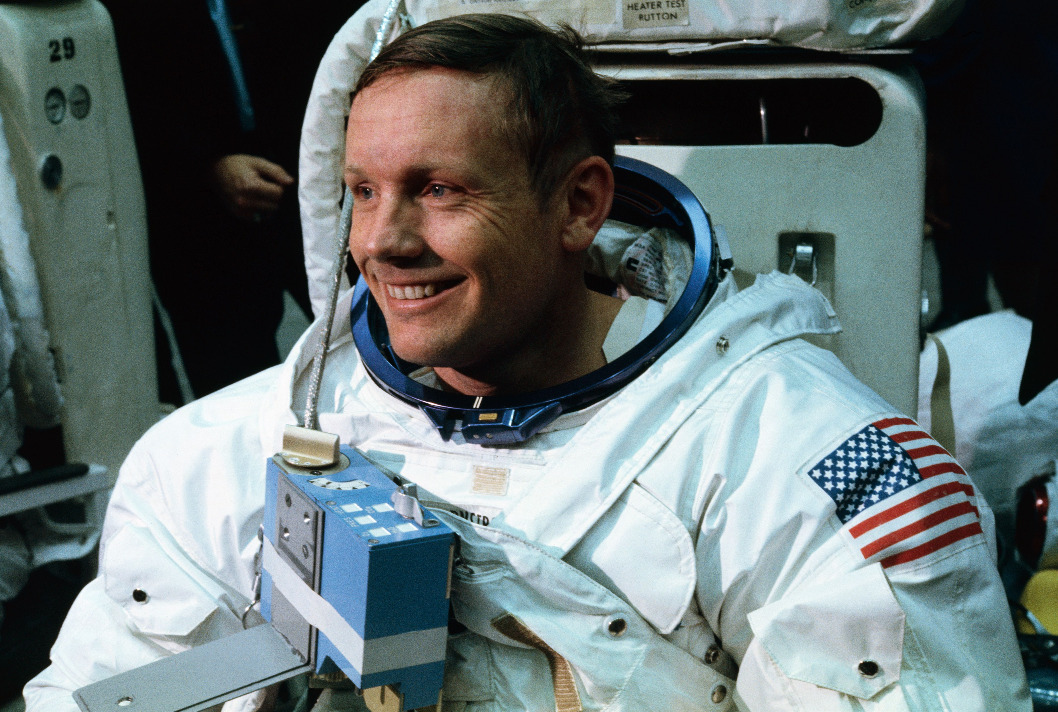 Neil Armstrong Training for Apollo 11 Mission