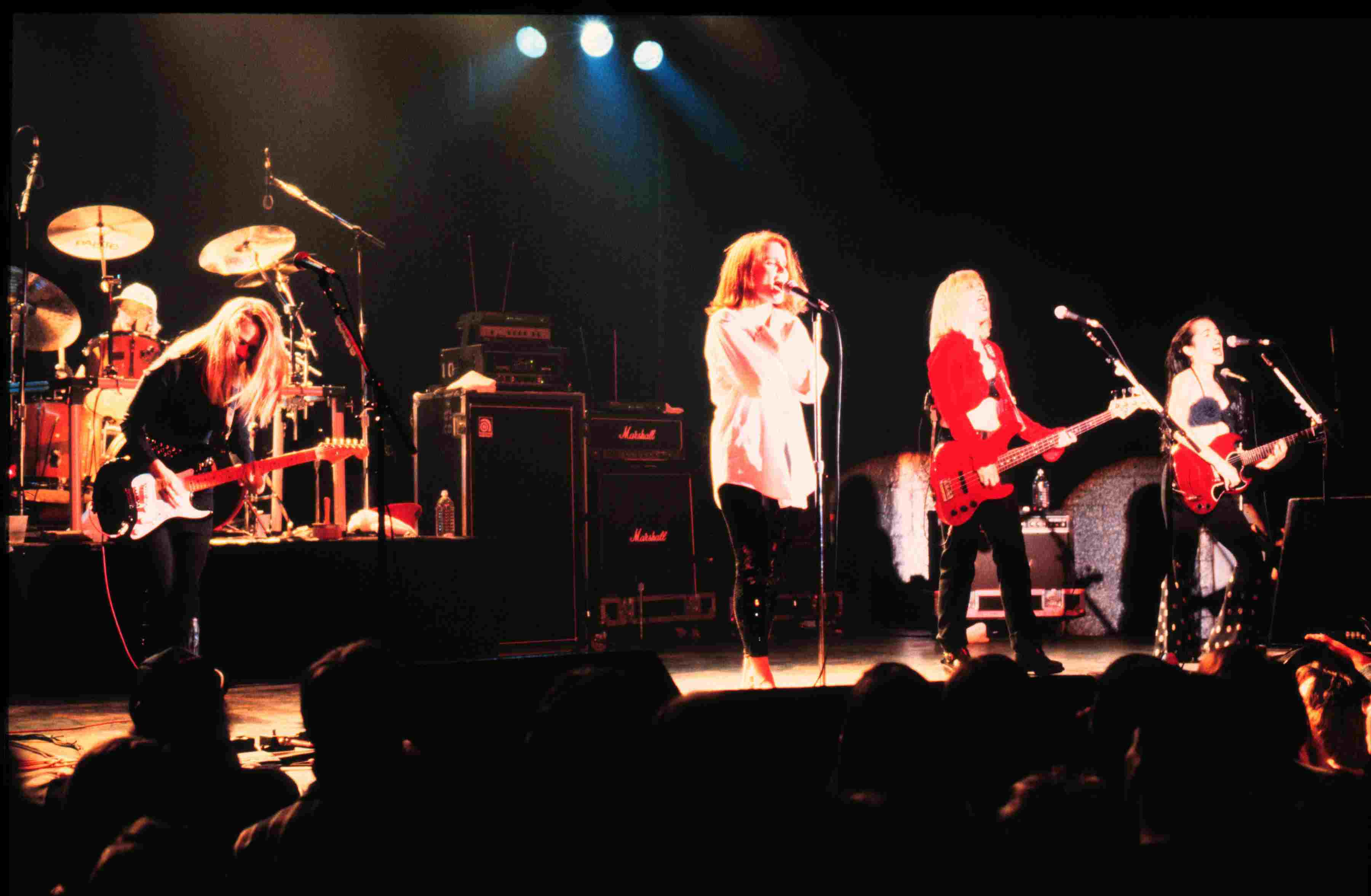 The Go-Go's in performance