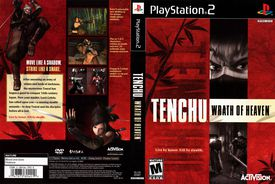 Box art for Tenchu Wrath of Heaven on PlayStation 2