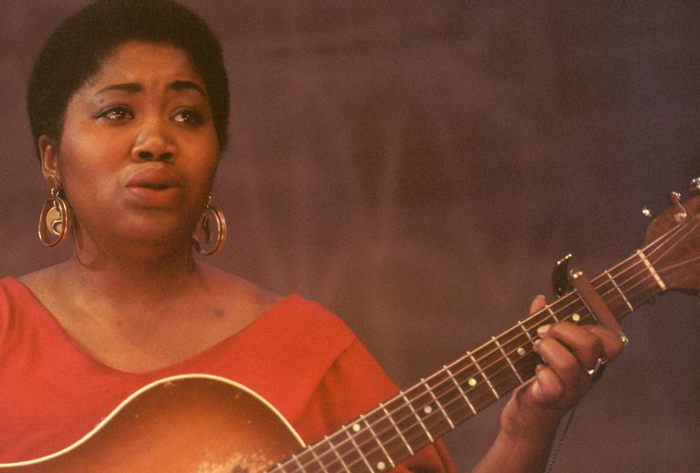 Portrait of Odetta