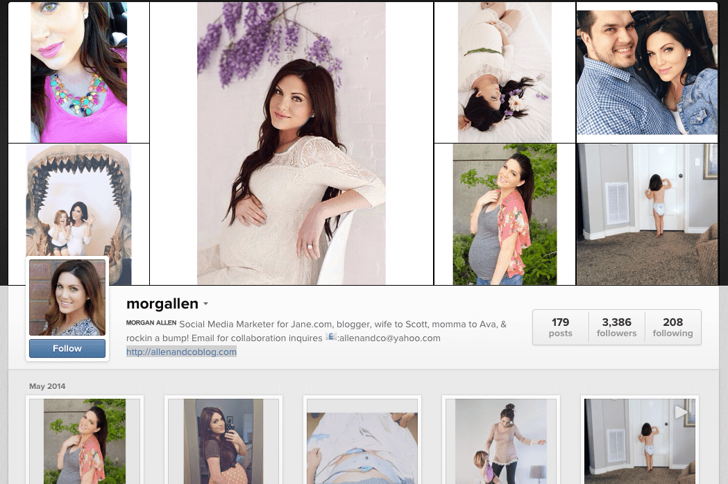 4395ddd2a44 7 Instagram Accounts To Follow For Maternity Style