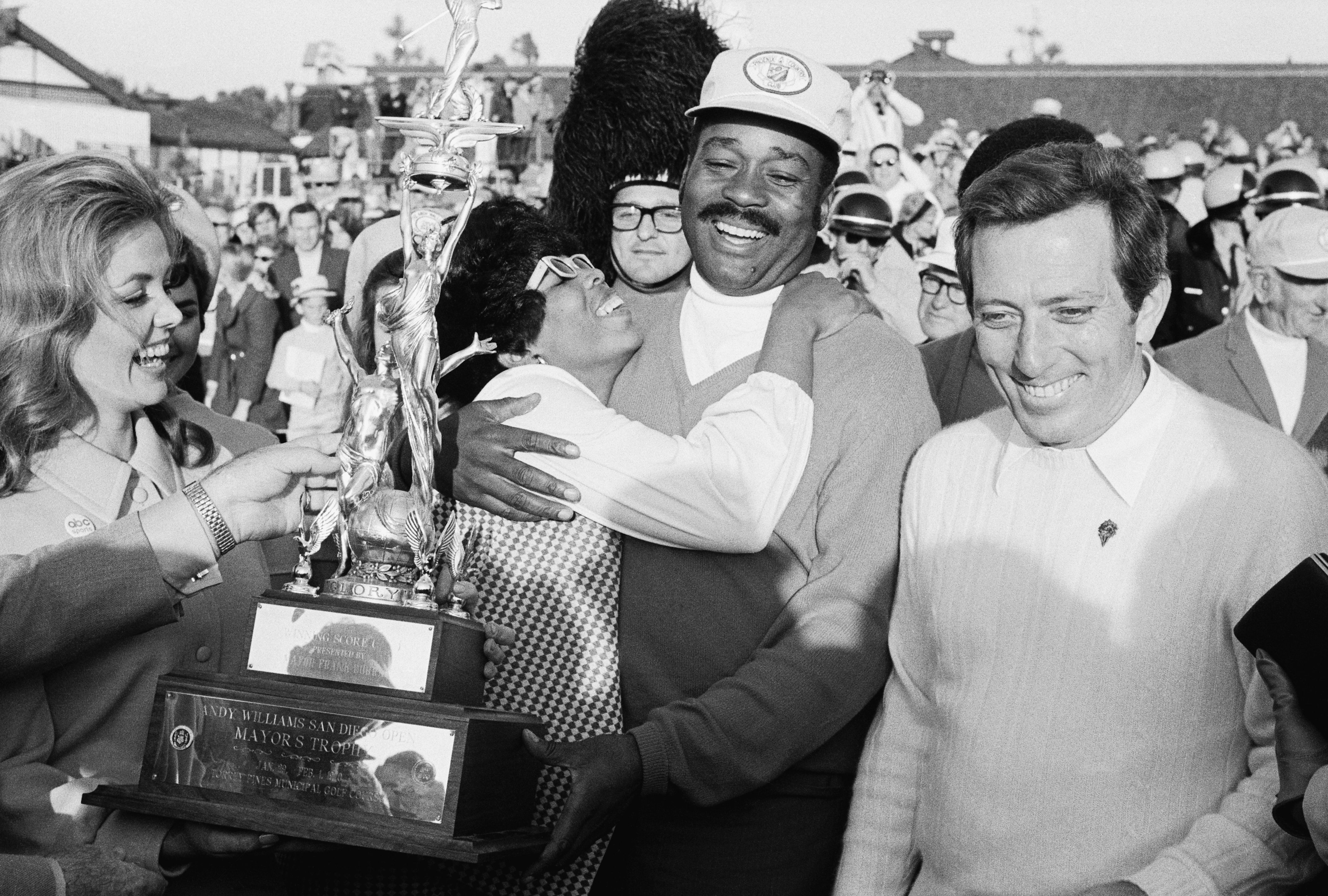 Pete Brown, first black golfer to win on the PGA Tour, adds another victory at the 1970 San Diego Open.