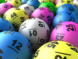 Image of Different Lottery Balls