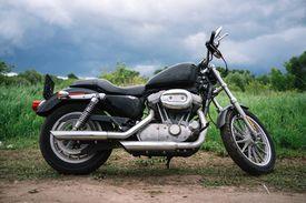 Bobber motorcycle