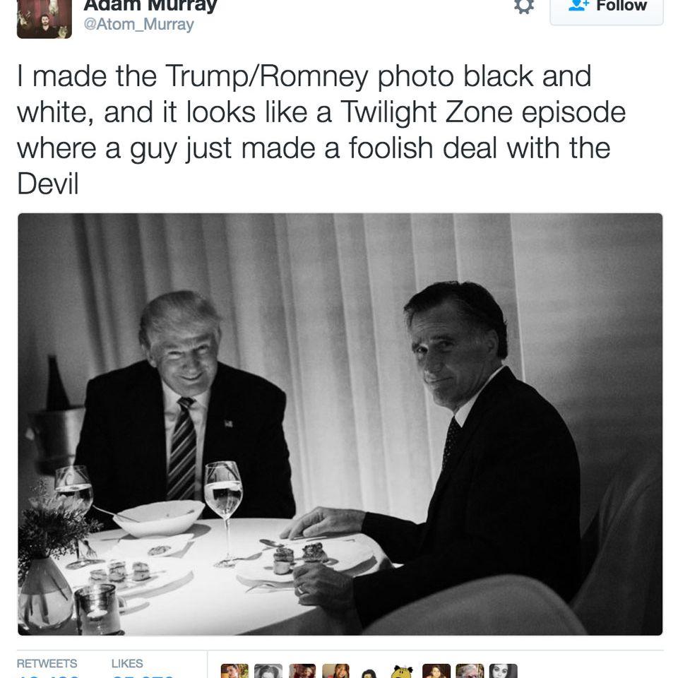 Twilight Zone - Trump meme