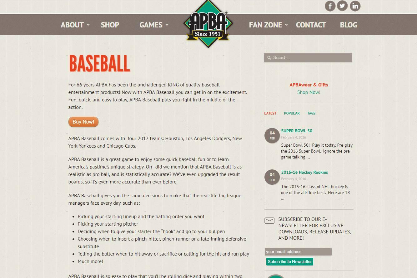 10 Best Computer Baseball Games