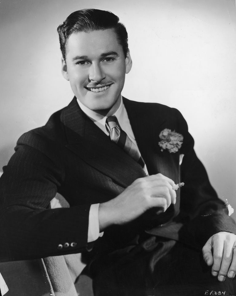Errol Flynn in 1938