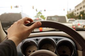 Traffic: Inside Car