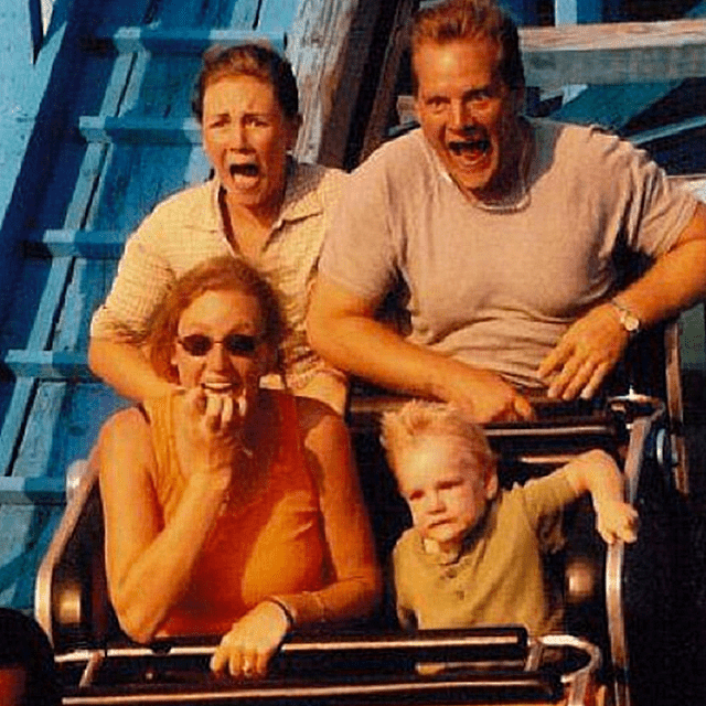 Roller Coaster wtf Kid