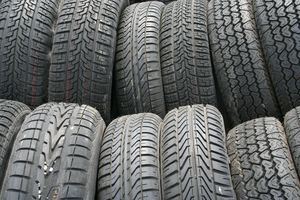 A selection of different tires