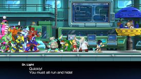 All of the robot masters in Mega Man 11 face off against Dr Wily.