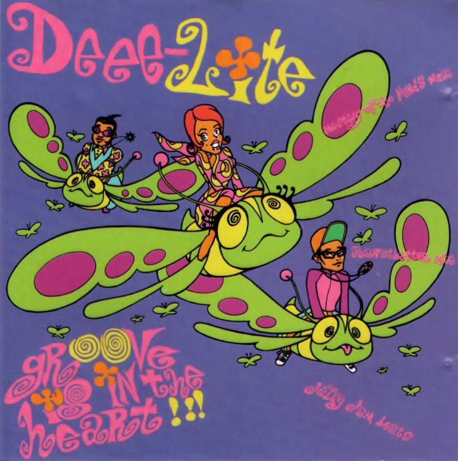 Deee Lite Groove Is In the Heart