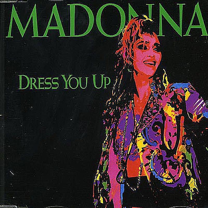 Madonna Dress You Up cover