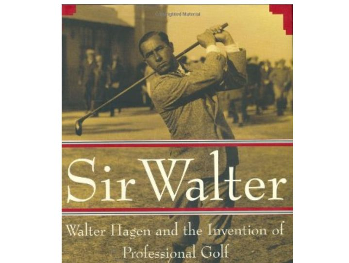 Sir Walter biography book cover