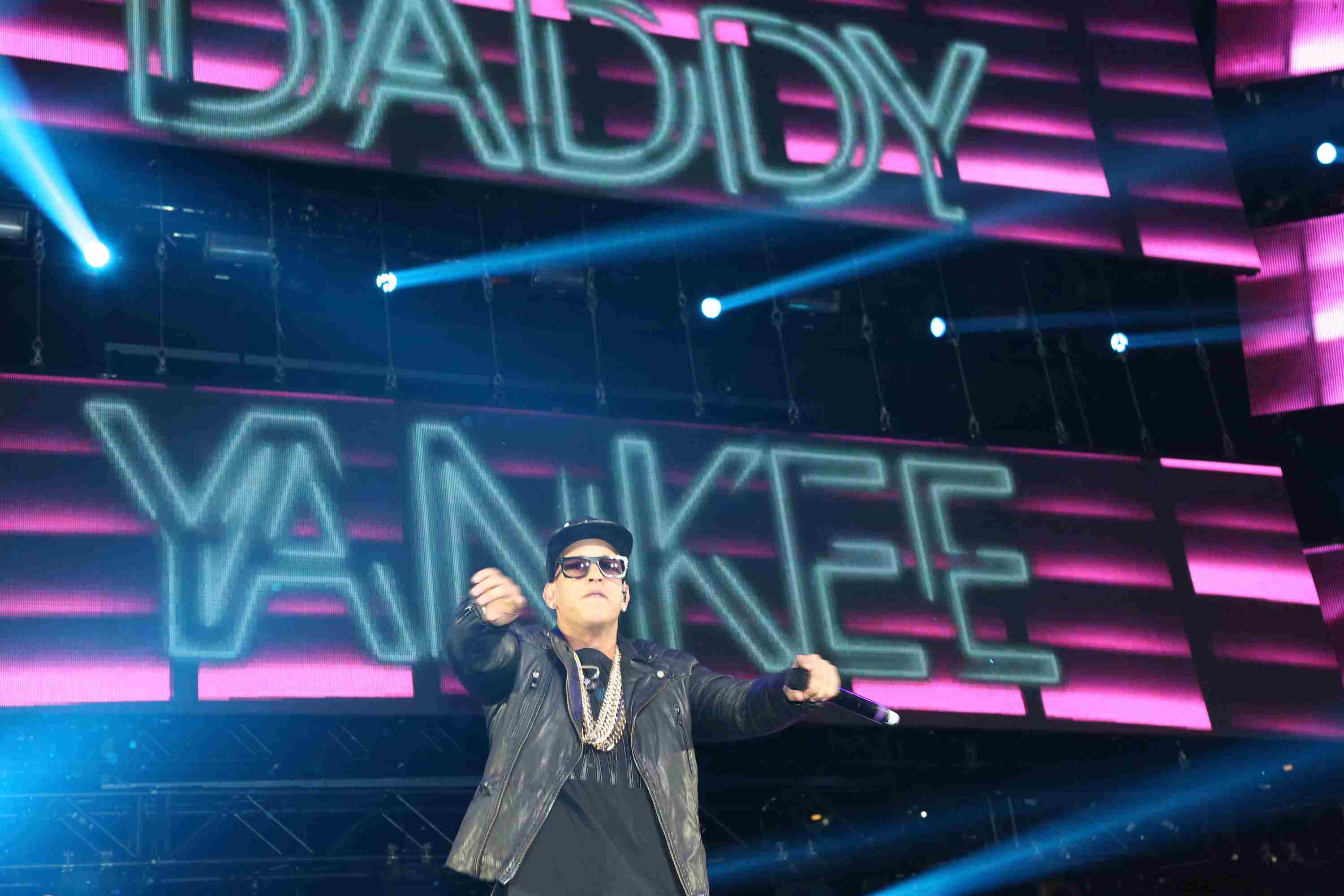 Daddy Yankee performs during La Mega Mezcla Live at Madison Square Garden on April 14, 2015 in New York City.