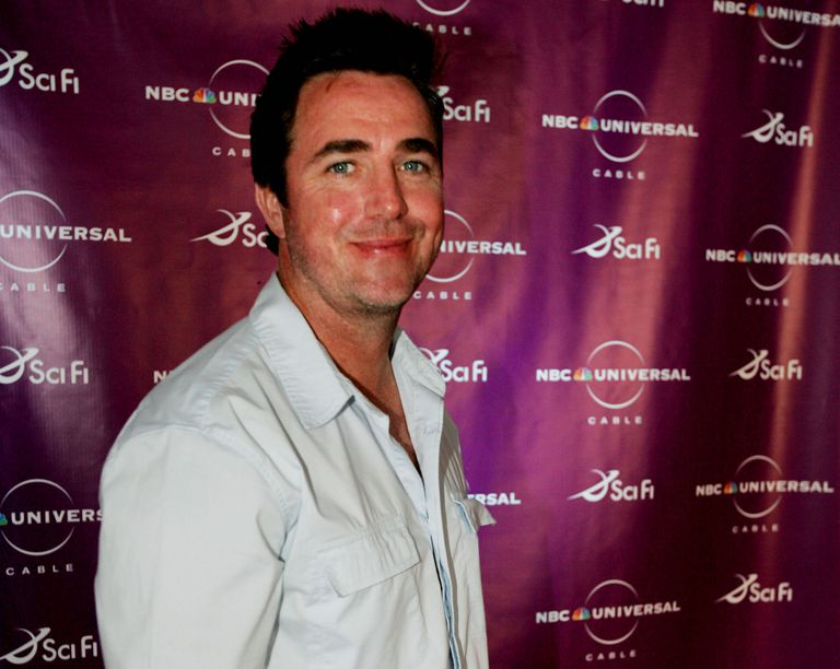 Actor Paul McGillion poses for photographers at the Sci-Fi Channel talent