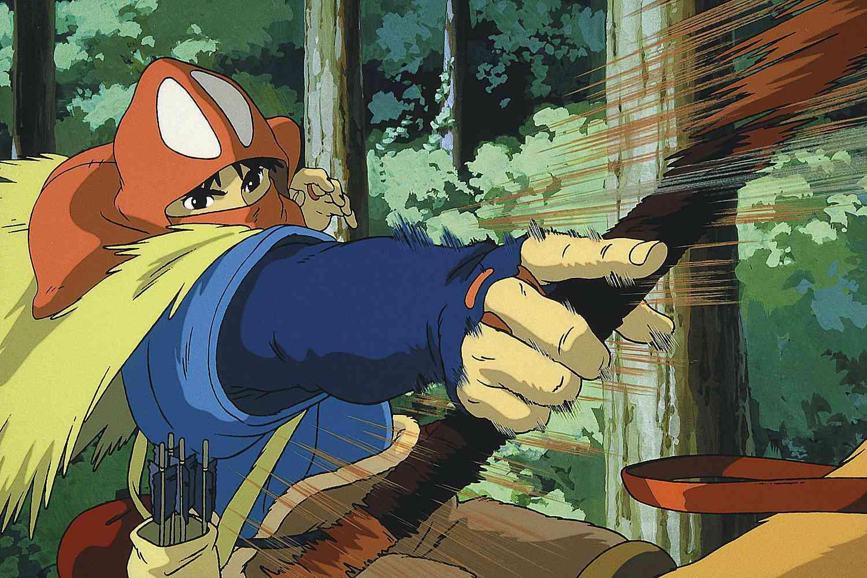 Ashitaka from Studio Ghibli's Princess Mononoke