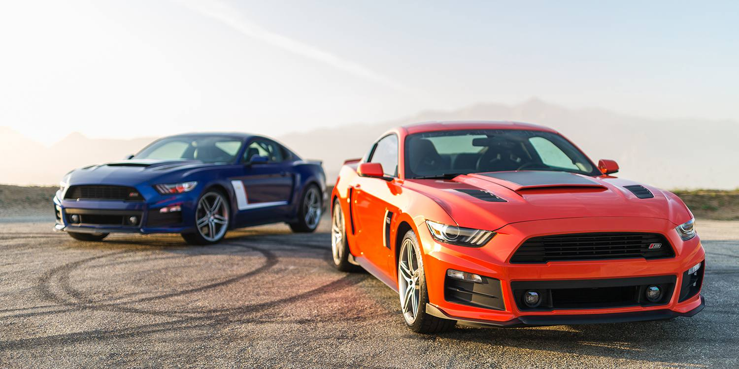 The 2016 roush mustang lineup jacks new stable of performance ponies