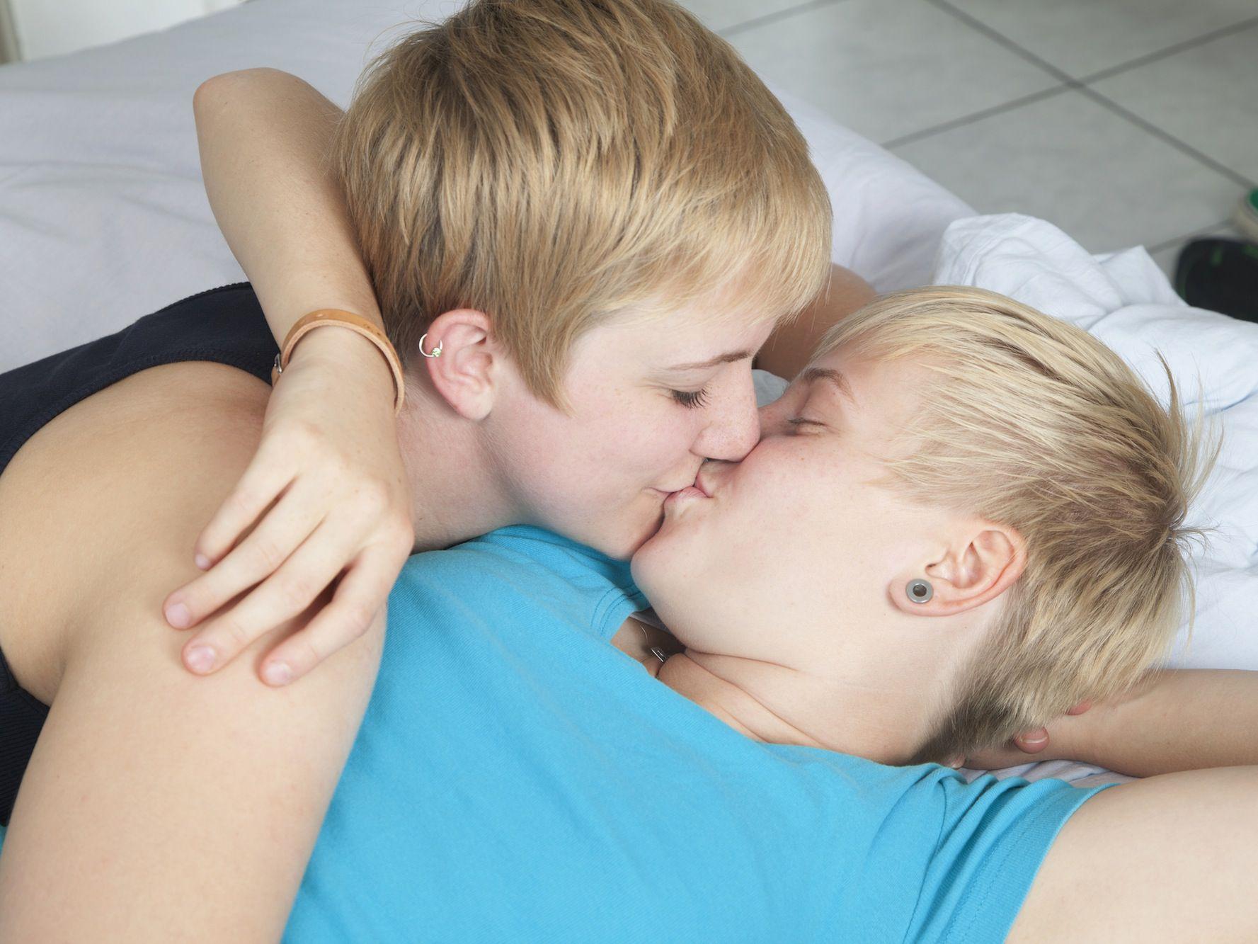 Teen Lesbian First Time