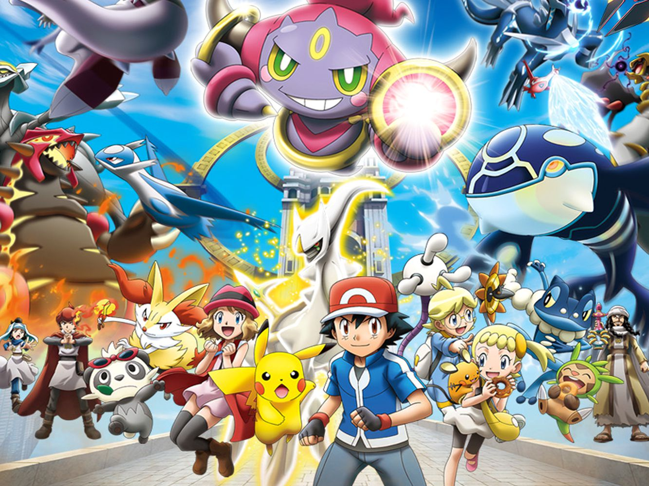 Pokemon The Movie Hoopa And The Clash Of Ages Dvd Review