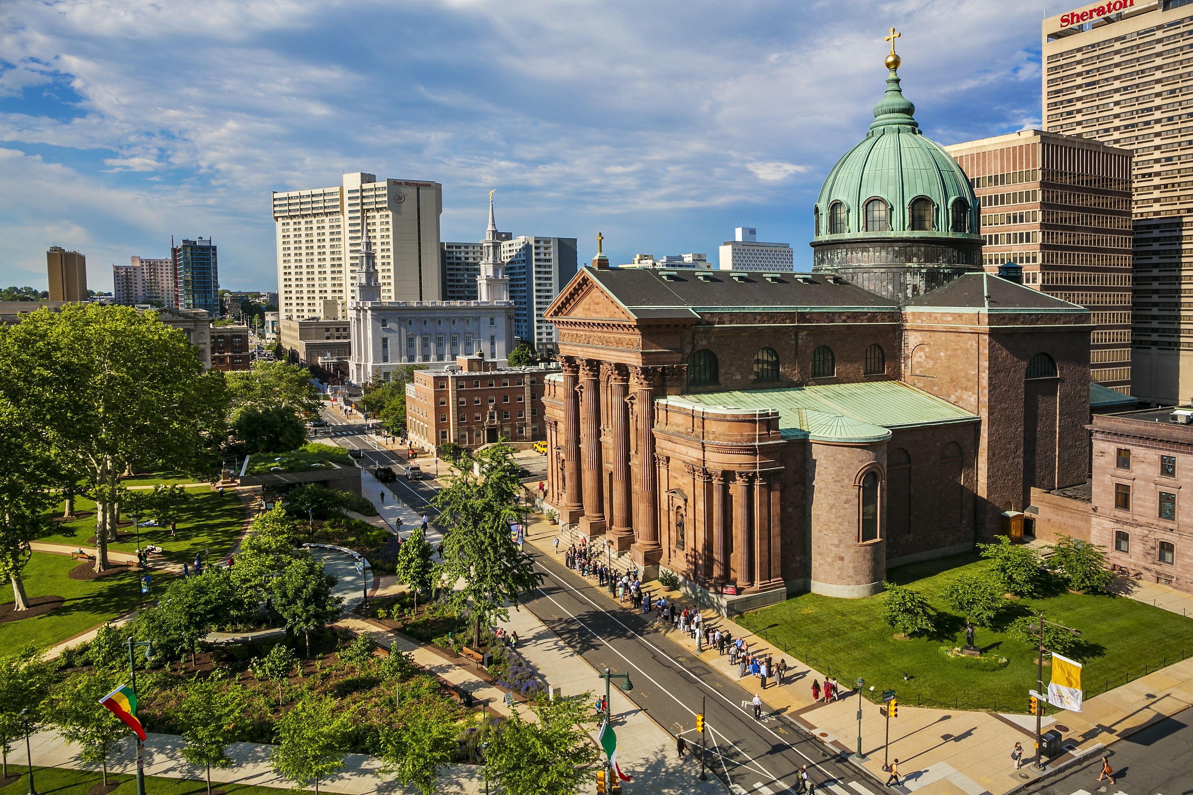 Cathedral Basilica of Saints Peter and Paul at Philadelphia.