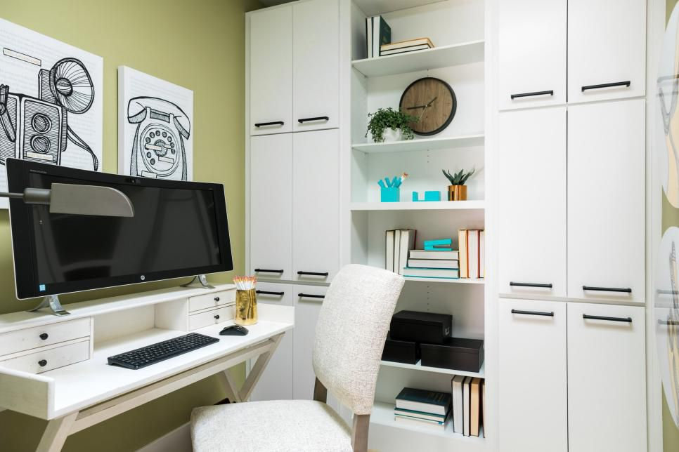Image of the HGTV Smart Home 2017's Home Office
