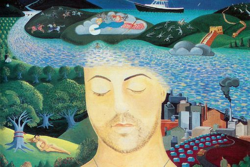 Billy Joel's River of Dreams album cover