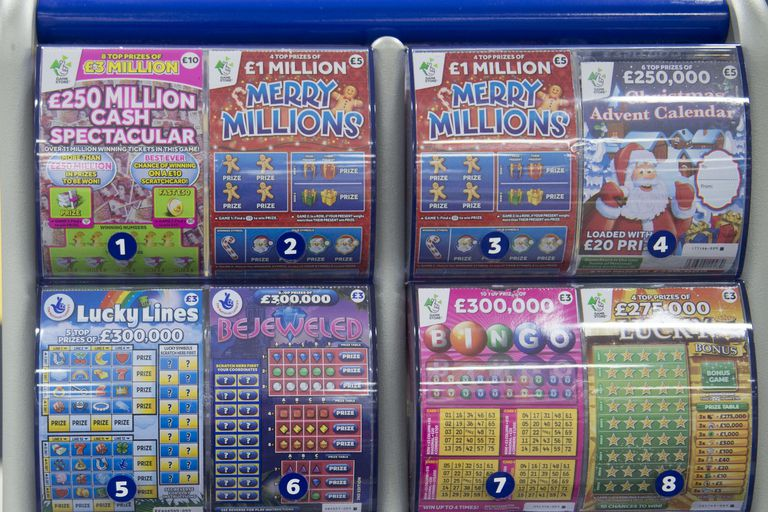 Image of Lottery Scratchers