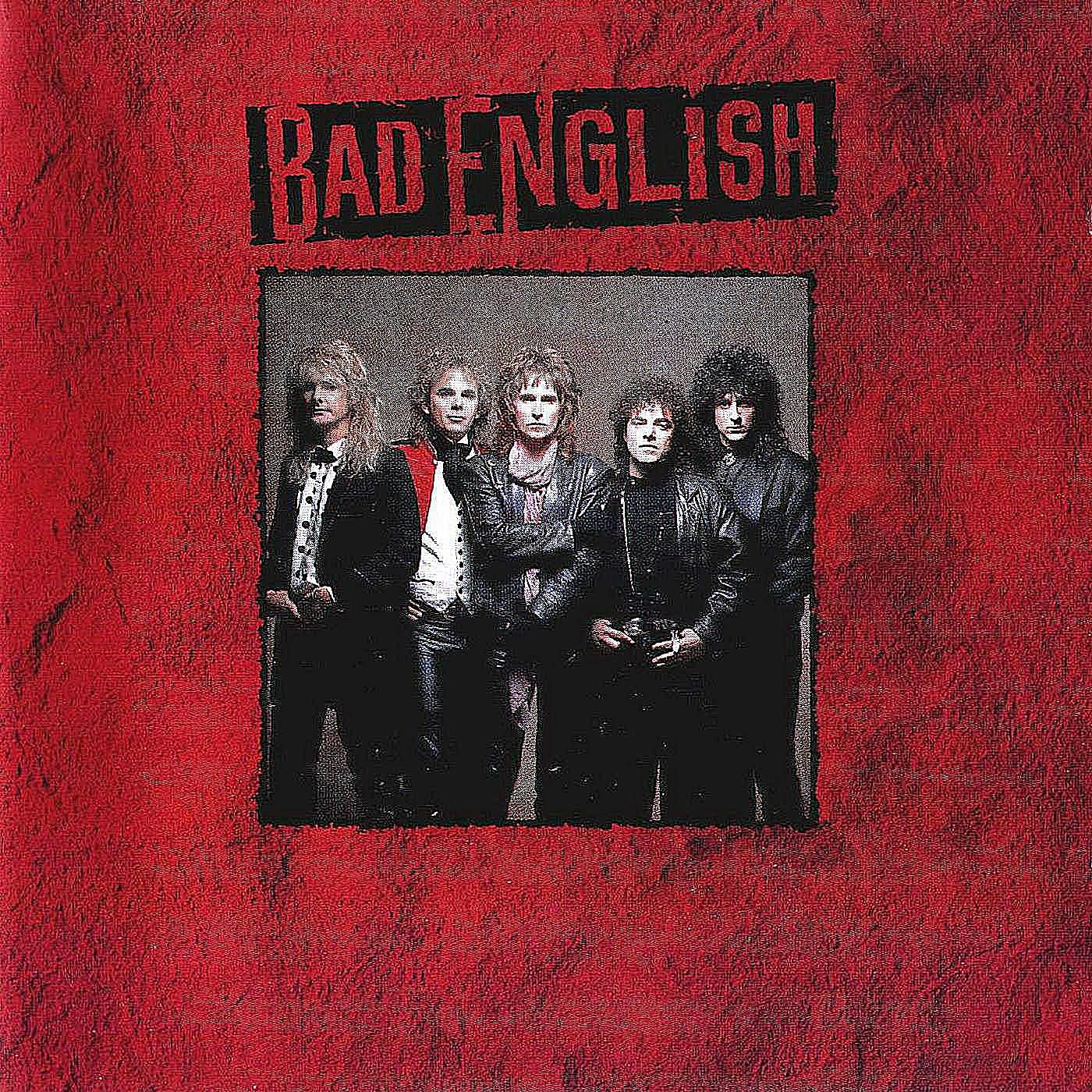 Bad English's self-tiled debut album cover from 1989